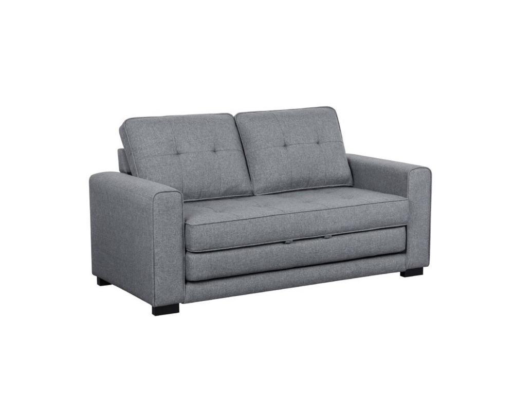 small gray couch