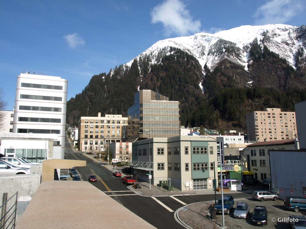 Juneau Alaska in the winter
