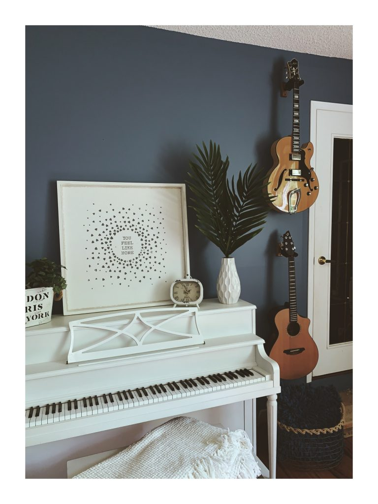 consider turning your dining room into a music room