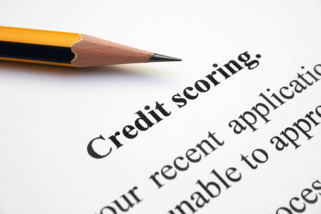 It's important to have a good credit score to get an apartment
